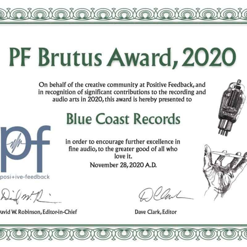 Positive Feedback Brutus Award