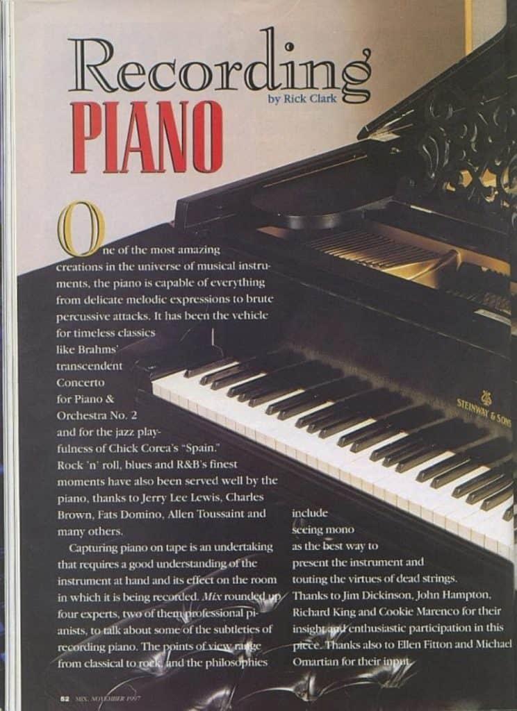 Mix Magazine Page 1