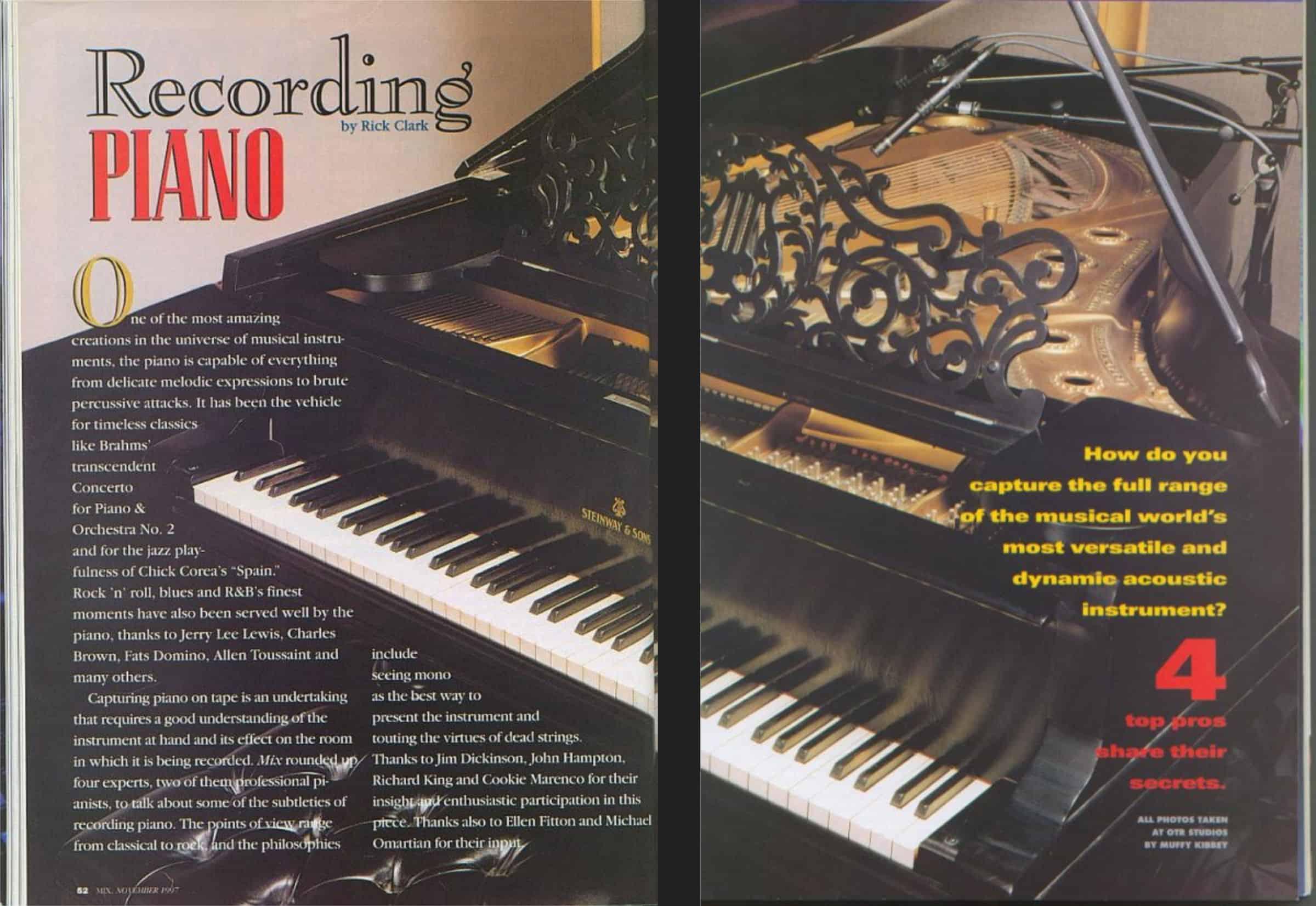 Mix Magazine Pages